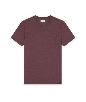 เสื้อยืดคอกลมผู้ชาย ผ้าเทคเจอร์