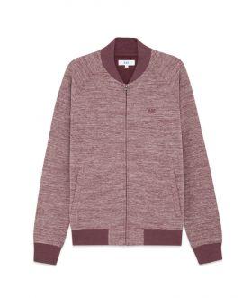 เสื้อแจ็คเก็ตบอมเบอร์ผู้ชาย ผ้าทอลาย