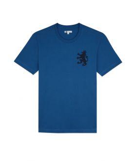 เสื้อยืดคอกลมผู้ชาย ปักสิงห์