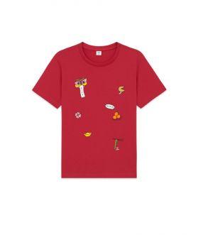 เสื้อยืดเด็ก AIIZ X SUNTUR ลายพิมพ์สัญญาลักษณ์ความโชคดี