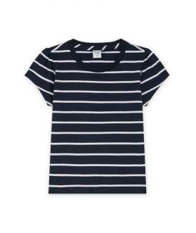 เสื้อยืดเด็กผู้หญิง ผ้าคอตตอน